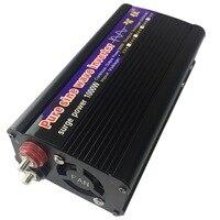 Pure Sine Wave Power Inverter Peak 1000W DC/AC Inverter Converter DC 12V to AC 220V for Solar Energy Systems