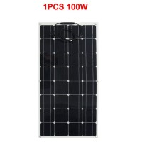 china factory price solar cell solar panel 100w USA import solar cell high charging efficiency easier to use