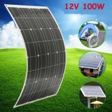 solar panel 12V 100W 100watt 18V Semi-Flexible mono solar panel, panel solar for car and boat