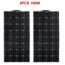 solar panel 100w 12V, flexible solar panel cells from China, cheap solar power panel for mini solar system kit home