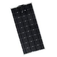Monocrystalline solar cell Semi Flexible Solar Panel 100W camping, caravan usage 100w flexible solar panel