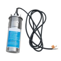12V/24V Steel Water Pump Submersible Deep DC Solar Well Stainless for house Ranch Solar Battery for home Farm Garden
