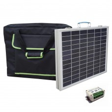 50w 18V Portable Folding solar panel Polycrystalline Panel photovoltaic for home 12V battery charger caravan sunpower